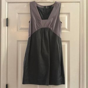Banana Republic Silver/Gray Cocktail Dress